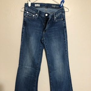 3/$10 Gap wide leg trouser jeans size 27R